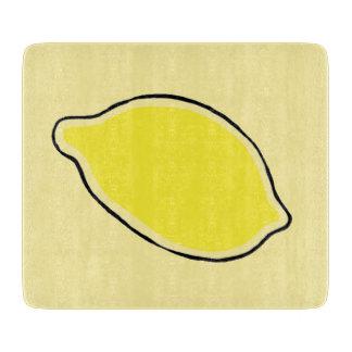 Lemon Cutting Board