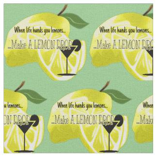 Lemon Drop Life Gives You Lemons Fabric