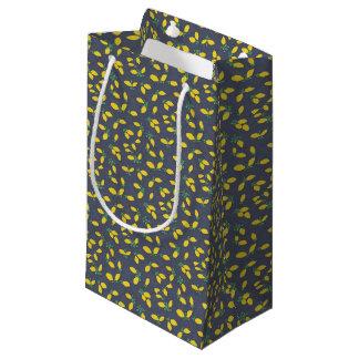 Lemon Drops Food Art Pattern Small Gift Bag