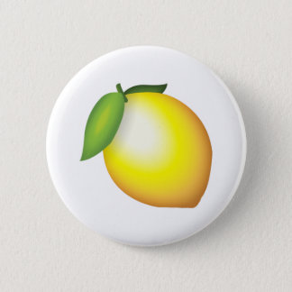 Lemon - Emoji 2 Inch Round Button