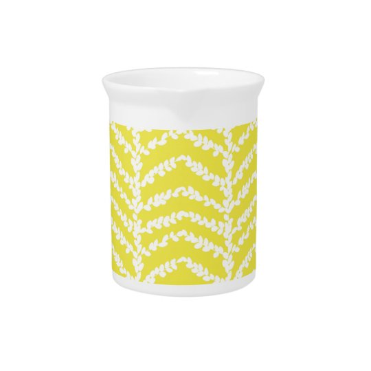 Lemon English Boxwood Drink Pitcher