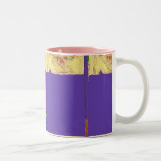 Lemon Expression Abstract Mug