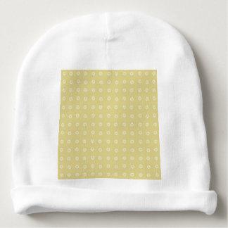Lemon Flower Pattern Baby Beanie