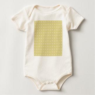 Lemon Flower Pattern Baby Bodysuit