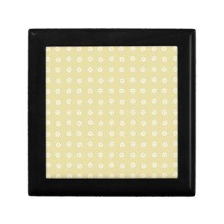 Lemon Flower Pattern Gift Box