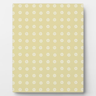 Lemon Flower Pattern Plaque