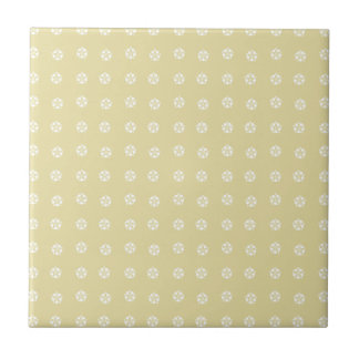 Lemon Flower Pattern Tile