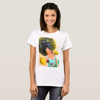 Lemon Fro Design T-Shirt