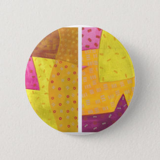 Lemon Grape Duo 2 Inch Round Button