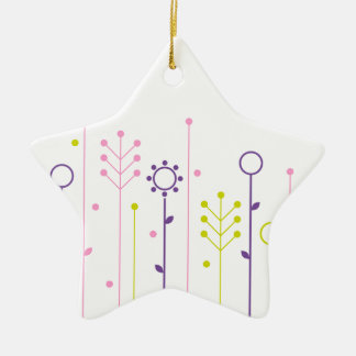 Lemon Grass creative T-Shirts Ceramic Ornament