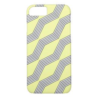 Lemon & Grey Chevron iPhone 7 Case