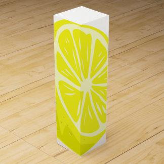 Lemon Half Wine Gift Box