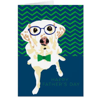 Lemon Hound Father's Day Card
