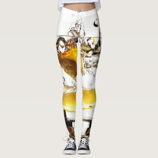 lemon in water leggings