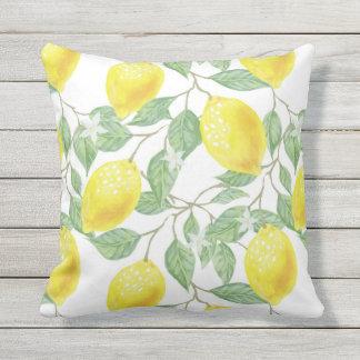 Lemon Indoor/Outdoor Pillow