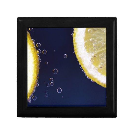 Lemon Jewelry Box