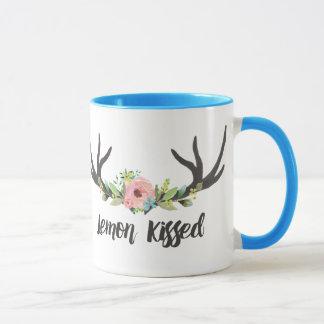 Lemon Kissed 11 oz Ringer Mug