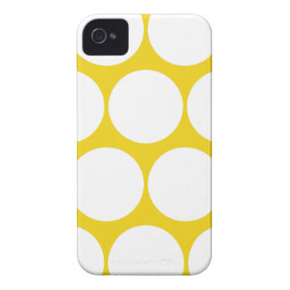 Lemon Large Polka Dot Iphone 4/4S Case