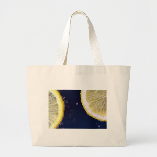 Lemon Large Tote Bag