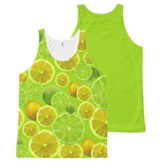 Lemon & Lime All-Over-Print Tank Top