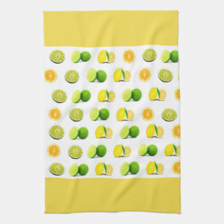 Lemon, Lime and Orange Kitchen Dishtowel Kitchen Towel