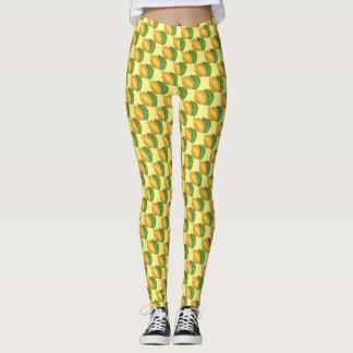 Lemon Lime Citrus Fruit Fruity Lemons n' Limes Leggings