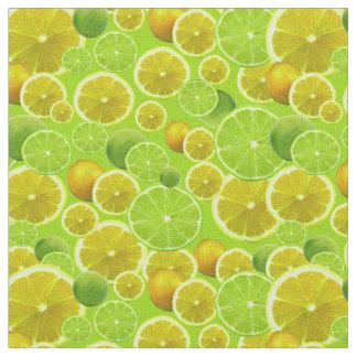 Lemon & Lime Fabric