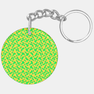 Lemon & lime keychain
