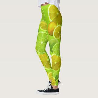 Lemon & Lime Leggings