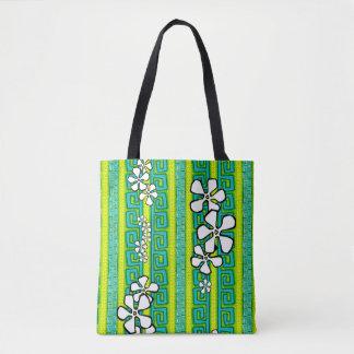 Lemon Lime Luau Tote Bag