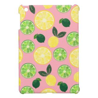 Lemon Lime Pink Case For The iPad Mini