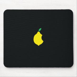lemon logo mousepad