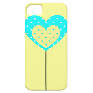 LEMON LOLLIPOP HEART PHONE CASE