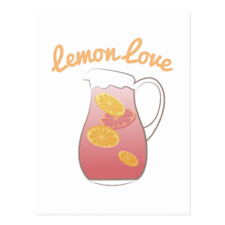 Lemon Love Postcard