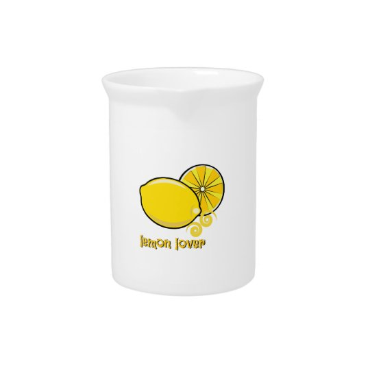 Lemon Lover Drink Pitcher