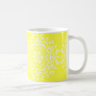 Lemon Mandala Coffee Mug