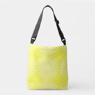 Lemon Mandala Crossbody Bag