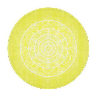 Lemon Mandala Cutting Board