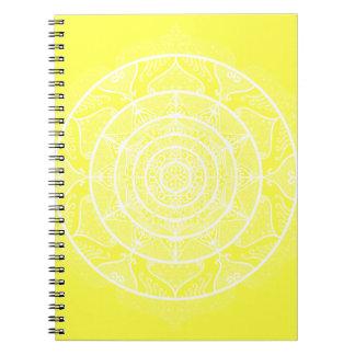 Lemon Mandala Notebooks
