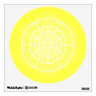Lemon Mandala Wall Decal