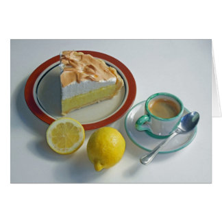 Lemon Meringue Pie Card