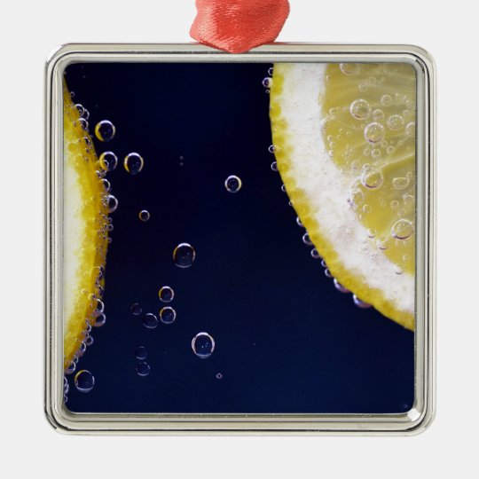 Lemon Metal Ornament