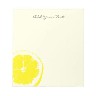 Lemon Notepads