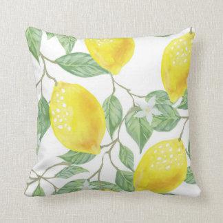 Lemon Outdoor Pillow