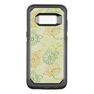 Lemon Pattern OtterBox Commuter Samsung Galaxy S8 Case