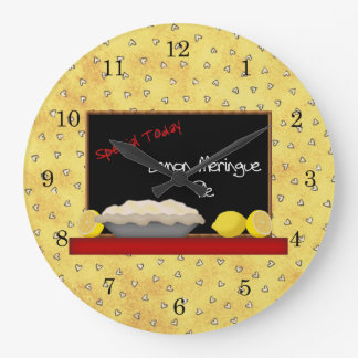 Lemon Pie Diner Wall Clock