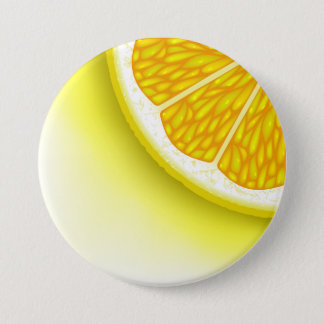 Lemon Pieces 3 Inch Round Button