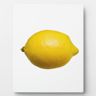 Lemon Plaque