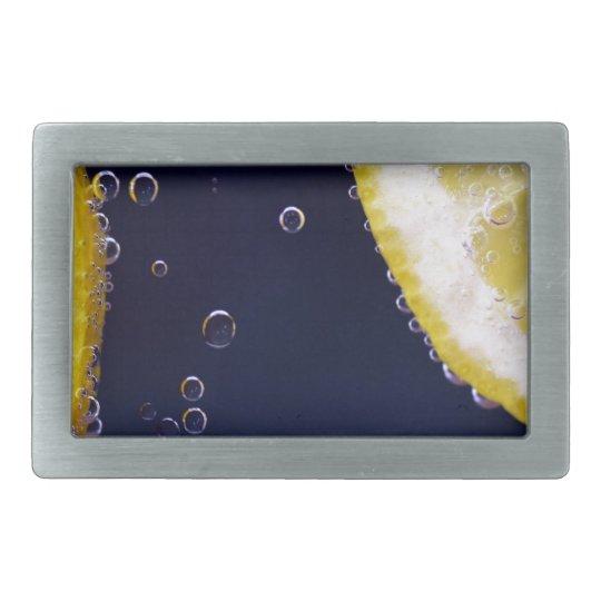 Lemon Rectangular Belt Buckles