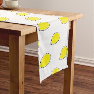 Lemon Short Table Runner